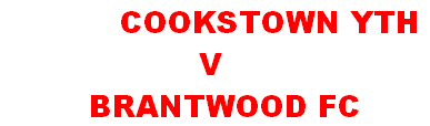 COOKSTOWN YTH